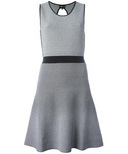 Emporio Armani | Flared Dress 44 Polyamide/Viscose/Spandex/Elastane