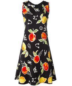 JC DE CASTELBAJAC VINTAGE | Apple Print Dress 42