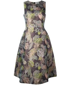 Essentiel Antwerp | Sleeveless Jacquard Dress Large Cotton/Polyester/Acetate/Viscose