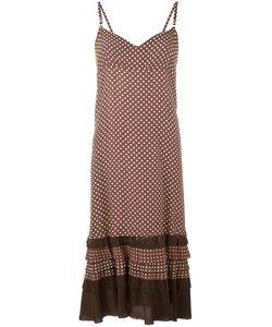 Comme Des Garcons | Comme Des Garçons Vintage Polka Dot Frayed Edge Dress