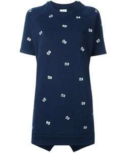 Zoe Karssen | Eyes Print Dress Medium Cotton/Polyester