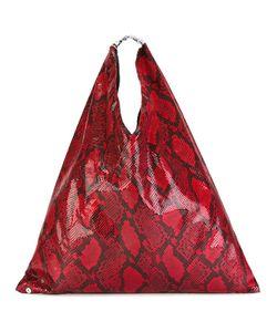 MM6 by Maison Margiela | Mm6 Maison Margiela Snakeskin Print Tote Bag Polyester