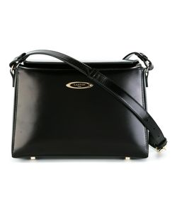 Lanvin | Angular Shoulder Bag Calf Leather/Cotton