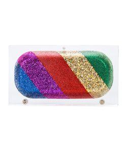 Sarah's Bag | Sarahs Bag Rainbow Pill Clutch Acrylic