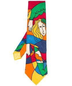 JC DE CASTELBAJAC VINTAGE | Cubist Print Tie