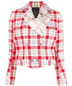 JOHN GALLIANO VINTAGE | Checked Jacket 40