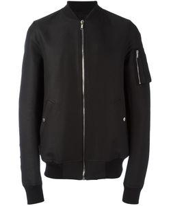 Rick Owens | Flight Bomber Jacket 48 Cupro/Cotton/Viscose/Cotton