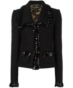 Dolce & Gabbana   Vintage Sequinned Trim Jacket 40