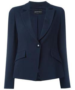 Emporio Armani | Flap Pockets Blazer 42 Viscose/Polyester