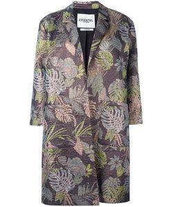 Essentiel Antwerp | Jacquard Coat 40 Cotton/Polyester/Acetate/Viscose
