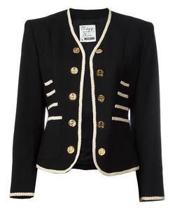 MOSCHINO VINTAGE | Military Style Jacket Small