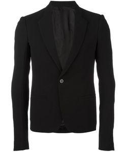 Rick Owens | Singe Button Blazer 48 Virgin Wool/Viscose/Cotton