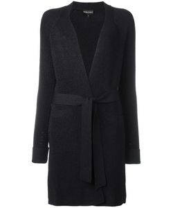 Emporio Armani | Belted Knit Coat 38 Viscose/Polyamide/Polyester Fibre