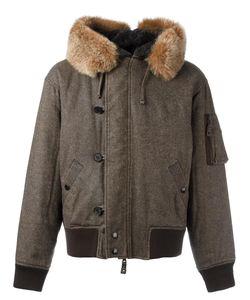 JEAN PAUL GAULTIER VINTAGE | Faux Fur Split Hood Bomber Jacket