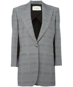 Cedric Charlier | Cédric Charlier Checked Blazer 42 Cotton/Acetate/Rayon