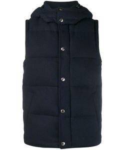 Sophnet. | Wool Down Vest Medium Wool/Polyester/Nylon/Feather Down