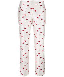 Giambattista Valli | Print Trousers 42 Polyester/Polyamide/Acetate