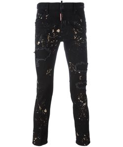 Dsquared2 | Skater Paint Splatter Jeans 50 Cotton/Spandex/Elastane
