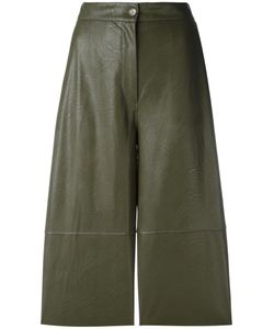 MM6 by Maison Margiela | Mm6 Maison Margiela Panelled Cropped Trousers 44 Viscose/Polyurethane