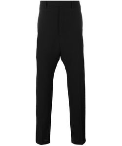 Rick Owens | Dropped Crotch Tailored Trousers 50 Virgin