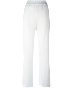 Versus | Elasticated Waistband Sheer Trousers 40 Polyester/Polyamide/Spandex/Elastane/Viscose