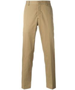 Lanvin | Appliqué Stripe Trousers 48 Cotton