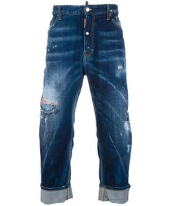 Dsquared2 | Big Brother Bleached Distressed Jeans 46 Cotton/Spandex/Elastane