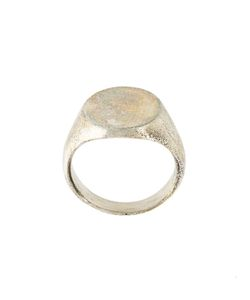 HENSON | Carved Oval Ring Adult Unisex 60