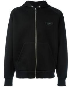 Givenchy   Logo Plaque Hoodie Large Cotton/Spandex/Elastane/Viscose