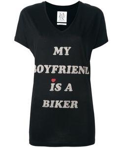 Zoe Karssen | Slogan T-Shirt Xs Cotton/Modal