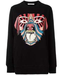 Givenchy | Tribal Print Sweatshirt Large Cotton
