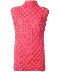 ISSEY MIYAKE VINTAGE | Sleeveless Origami Top Medium