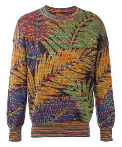 MISSONI VINTAGE | Palm Intarsia Knit Jumper Medium/Large