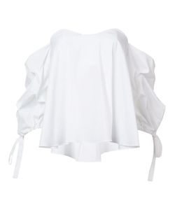 Citizens of Humanity | Off-Shoulders Ruffled Blouse Medium Cotton