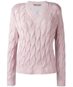 Cruciani | Cable Knit Jumper 38 Cashmere