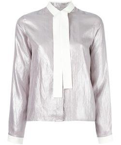 MM6 by Maison Margiela   Mm6 Maison Margiela Tie Neck Shirt 38