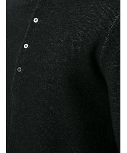 MA+ | Button Collar Jumper 50 Cotton/Polyamide/Wool