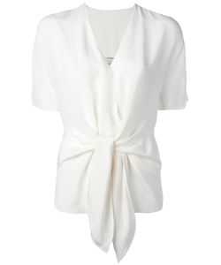 3.1 Phillip Lim | Tie-Front Shortsleeved Blouse 2 Silk