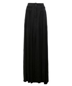 Ann Demeulemeester | Front Slit Skirt 36 Cotton/Rayon/Viscose
