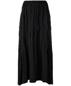 ISSEY MIYAKE VINTAGE | Crushed Maxi Skirt Medium