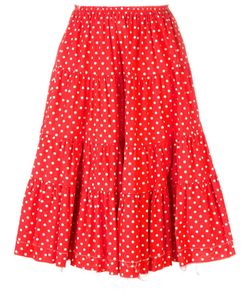 Comme Des Garcons | Comme Des Garçons Vintage Polka Dot Tie Skirt Small