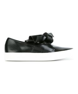 Cedric Charlier | Cédric Charlier Oversized Knot Sneakers 41 Leather/Rubber