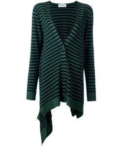 Christian Wijnants | Krista Striped Cardigan Medium Polyester/Viscose/Virgin Wool
