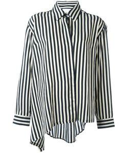 Christian Wijnants | Tal Asymmetric Shirt 40 Polyamide/Acetate