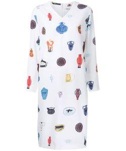 TARO HORIUCHI | Vase Print Dress Polyester