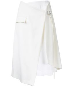 TARO HORIUCHI | Layered Wrap Skirt Polyester/Rayon/Wool/Polyethylene