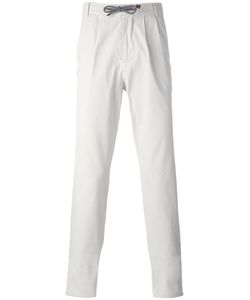 Brunello Cucinelli | Drawstring Trousers 52 Cotton/Spandex/Elastane/Polyester