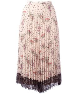 Red Valentino | Pleated Skirt 38 Polyester