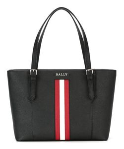 Bally | Striped Detail Tote Calf Leather
