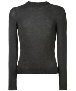 Maison Margiela | Crew Neck Jumper Large Mohair/Cotton